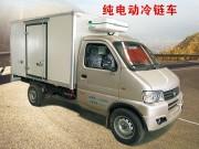 Pure electric cold chain car