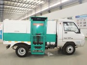 Pure electric dump garbage truck