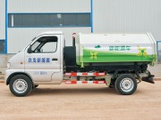 Pure electric truck detachable garbage truck